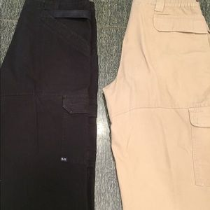 👔 34/32 Tactical  Pants Two Pair